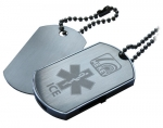 MEkey Dog Tag Presentation Tin